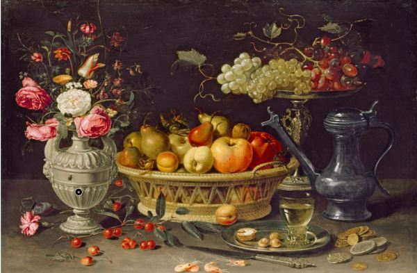 Clara Peeters,s.XVIII. Bodegón. The Ashmolean Museum. Oxford