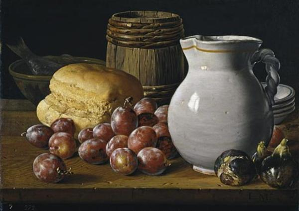 Luis Melendez. Naturaleza muerta. Museo del Prado