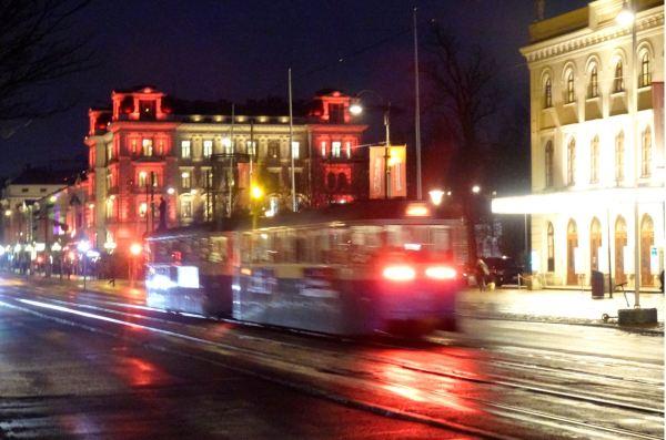 Luminarias navideñas en Gotemburgo. Foto R. Puig