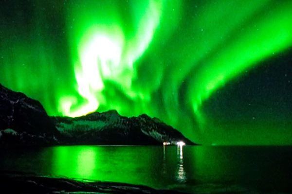 """Aurora Borealis: En Helaften Under Nordlyset"""".Noruega 2016."""