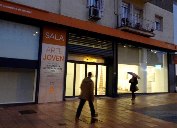 Sala de Arte Joven, Madrid. Foto R.Puig