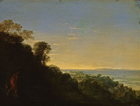 "Adam Elsheimer, ""La Aurora"", óleo sobre cobre, Herzog Anton-Ulrich Museum, Brunswick"