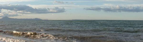 Desde la playa de Deveses. Foto R.Puig