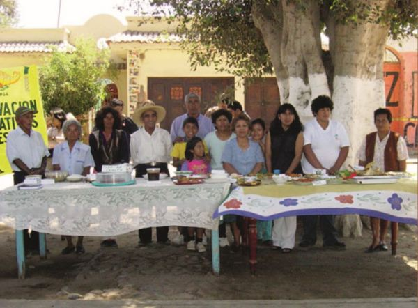 Feria de Platos Tipicos en Guadalupe. Participantes.