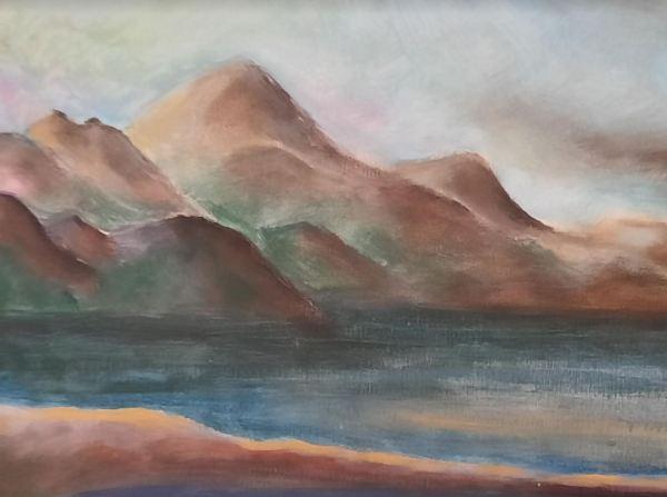 Abra, óleo sobre lienzo, detalle. 2009, R.Puig