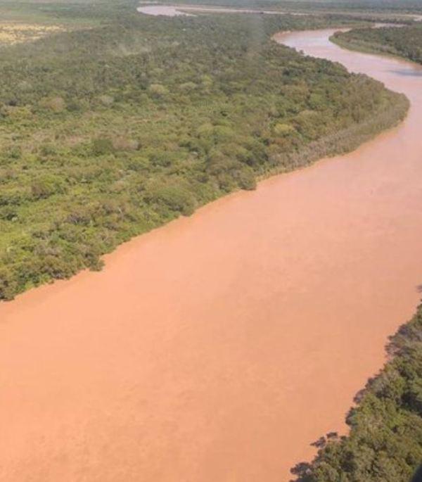 El río Bermejo. Argentina.Foto Agencia Télam.