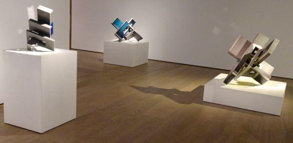 Exposición de Arturo Berned. Galería Fernández Braso. 20 enero 2020. Foto R.Puig