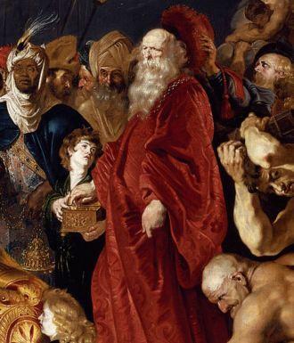 Rubens. Adoración de los Magos. Detalle. Museo del Prado