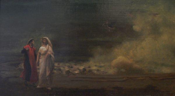 Jean-Léon Gérôme. Dante y Virgilio en el infierno. Museo Georges Garret. Vesoul, Francia