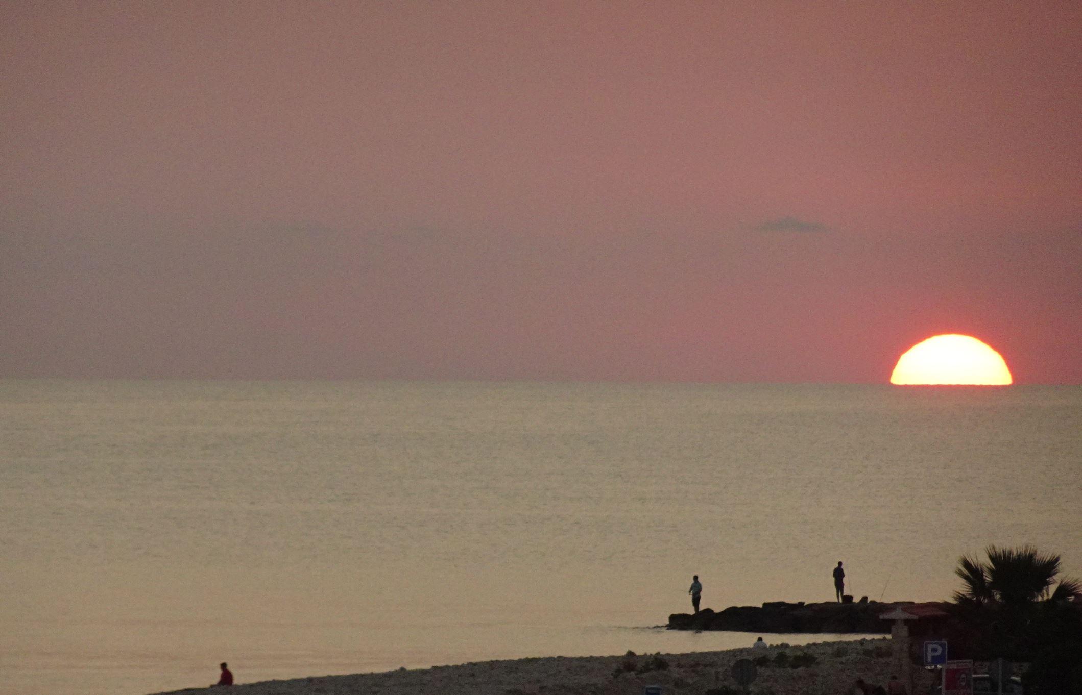 Ayer al amanecer. Foto R.Puig